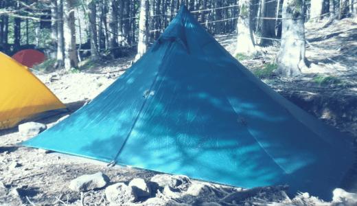 ソロキャンプにおすすめのテント!LOCUS GEAR Khufu Sil / ローカスギア クフ・シル レビュー