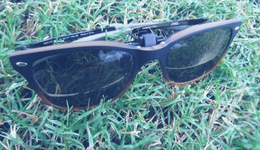 メガネの上からサングラス green glass(グリーン・グラス)の瞬間サングラス GR-010C レビュー