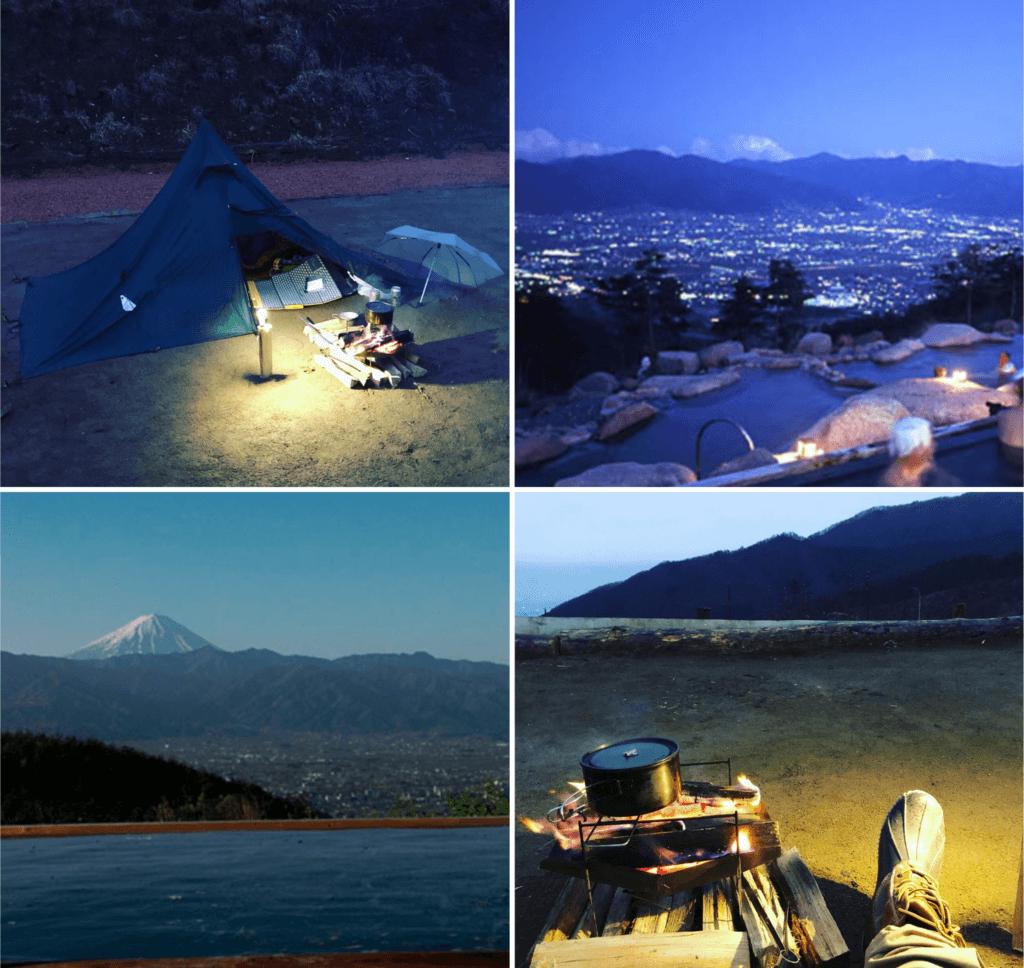 ほったらかしキャンプ場天気